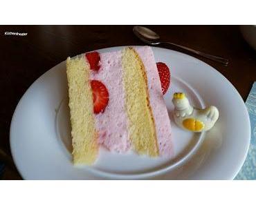 Buttermilch-Erdbeer-Torte