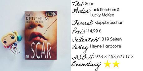 Scar | Jack Ketchum & Lucky McKee