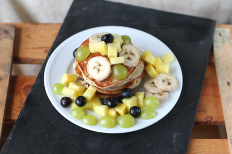 Clean eating Vegan Pancakes Fit and sparkling Life