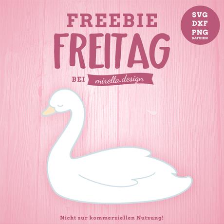Freebie Freitag mit Schwan