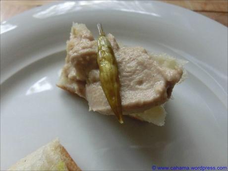 Thunfischcreme mit Bärlauchkapern