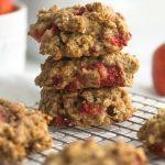 Gesunde Erdbeer-Cookies