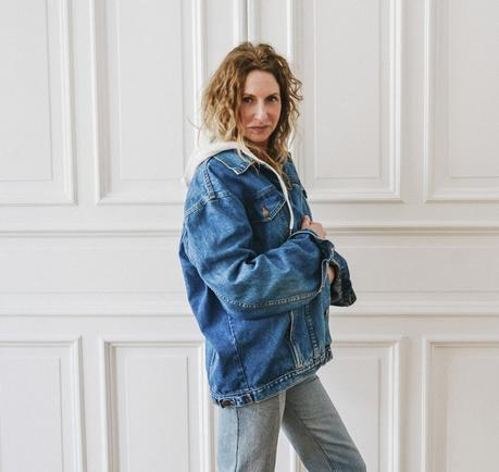 NEW IN! Vintage oversized Jeansjacke von So Sue