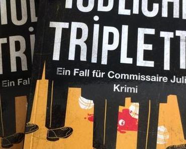 Buchtipp - Tödliche Triplette von Markus Hoffmann gehört als Urlaubslektüre in den Koffer