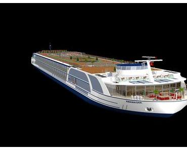 AMAWaterways plant Mega Flussschiff