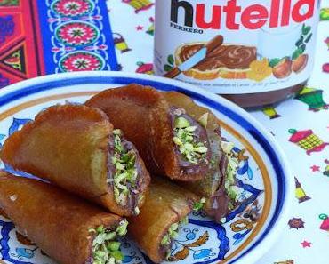 Neue Katayef-Ideen mit Nutella und Sahne