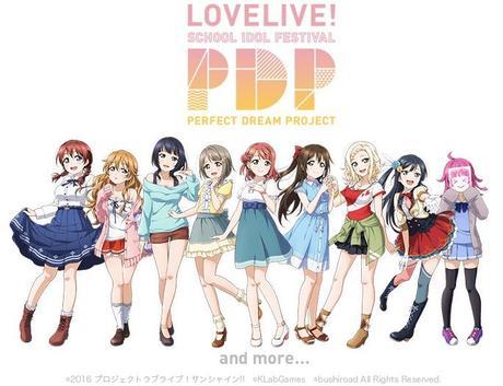 Love Live! School Idol Festival Perfect Dream Project: Idolgruppe enthüllt