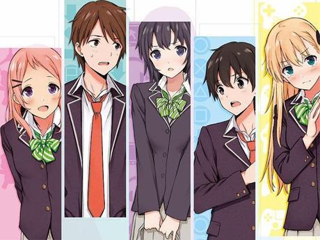 Gamers! – Cast zum TV Anime bekanntgegeben