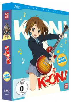 K-ON! Gesamtausgabe: Blu-Ray-Version nun ebenfalls vorbestellbar