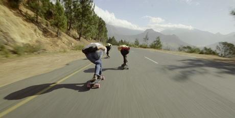 Longboarding Franschhoek (South Africa)