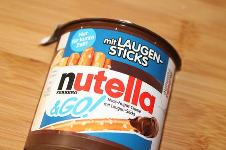 Review: Nutella and Go! mit Laugensticks
