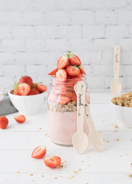 Projekt: Wasserwoche mit Gerolsteiner & eine Erdbeer-Joghurt-Bowl to go (Werbung)