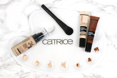 1 Foundation - 7 Farbtöne:  Catrice Prime & Fine Makeup Transformer Drops