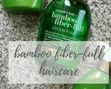 Beauty | ogx bamboo fiber-full Volumen-Haarpflege
