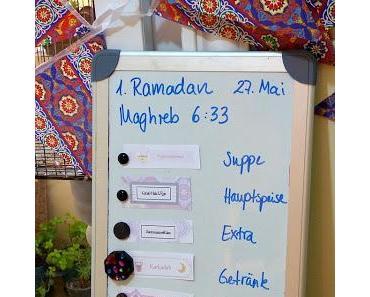 Was koche ich im Ramadan? DIY-Menüplan zum Ausdrucken