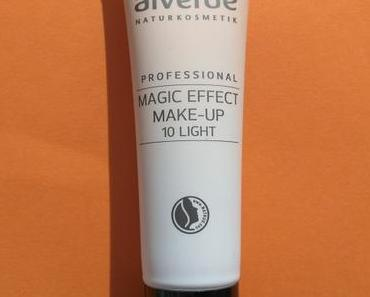 alverde NATURKOSMETIK Professional Magic Effect Make-up light 10 + alverde Gebackenes Rouge 10 Peachy Bronze :D
