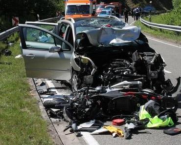 Tödlicher Motorradunfall Lindenberg K16
