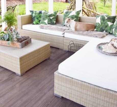 hallo veranda mein sommer refugium und tropical deko. Black Bedroom Furniture Sets. Home Design Ideas