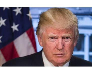 Donald J. Trump trampelt die Umwelt platt