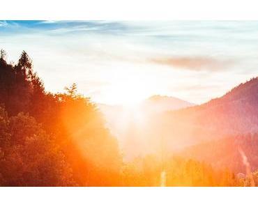 Bild der Woche: Sonnenuntergang am Josefsberg