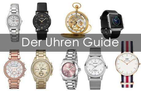 Der Uhren Guide | Die verschiedene Uhrentypen