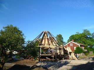 Neue Glashütte in Orrefors weiterhin planmässig im Bau!