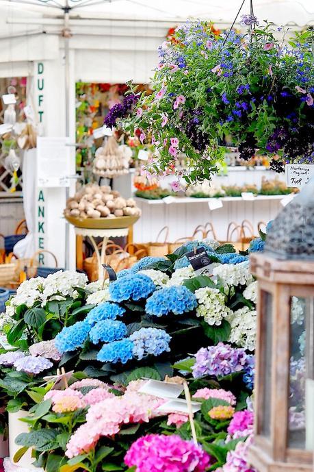 Blumen am Viktualienmarkt