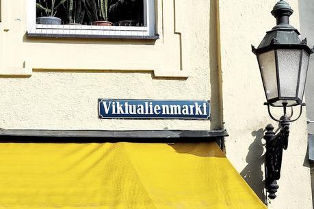 Viktualienmarkt Schild