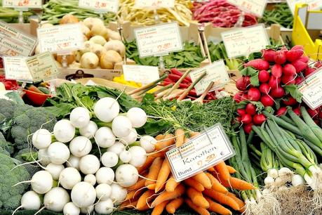 Gemüse am Viktualienmarkt