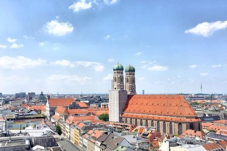 Ausblick von Alten Peter auf die Frauenkirche