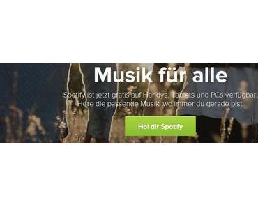 Spotify hat jetzt 140 Millionen aktive Nutzer
