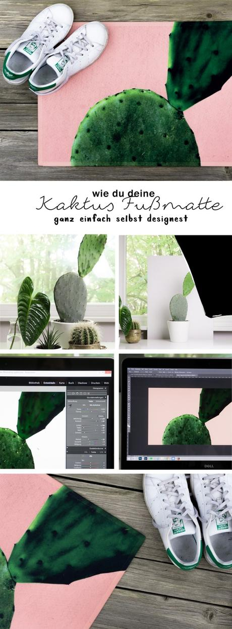 plants colour wie du eine diy fu matte selber machst. Black Bedroom Furniture Sets. Home Design Ideas