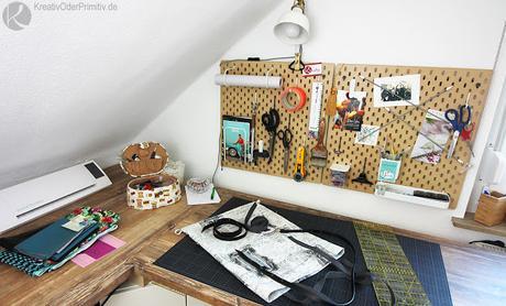 kreativraum diy workspace. Black Bedroom Furniture Sets. Home Design Ideas