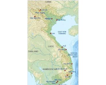 Wo ist Vietnam? – Allgemeine Infos über Vietnam sollte man wissen.