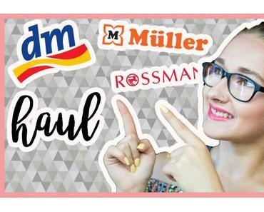 [Haul] DM, Rossmann & Müller Summer Edition | Video