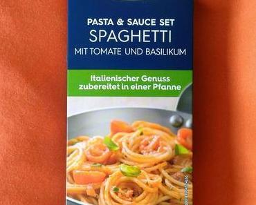 (Werbung) Barilla Pasta & Sauce Set Spaghetti mit Tomate und Basilikum