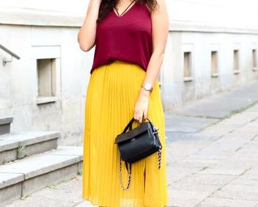 Colour Blocking – Yellow and Red