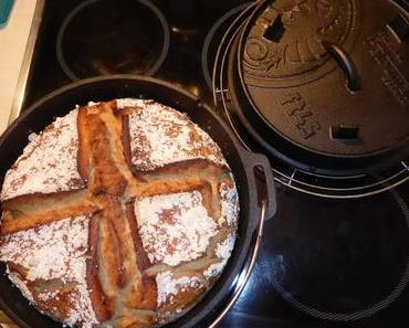 Roggenmischbrot aus dem Dutch Oven