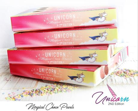 Confiserie Wiebold - UNICORN 2ND Edition - Magical Choco Pearls - Limited Edition