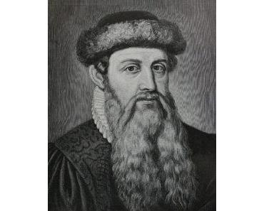 Johannes Gutenberg Steckbrief