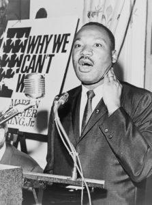 Martin Luther King Steckbrief - Bild