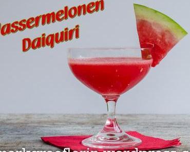 Wassermelonen-Daiquiri (- mit oder ohne Alkohol)
