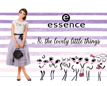 """new essence trend edition """"& the lovely little things"""