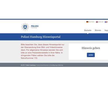Online-Hetzjagd der Hamburger Polizei