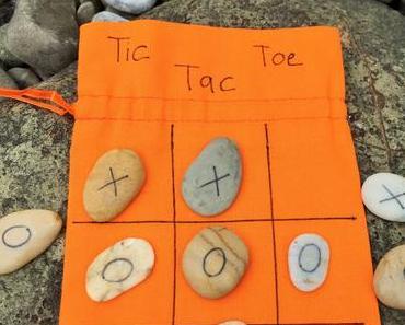 Ferienspiele: Tic Tac Toe für die Reisetasche