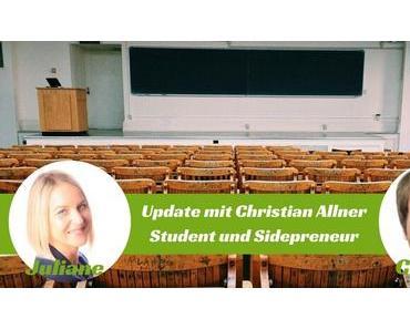 """""""Vom Student und Sidepreneur zum Entrepreneur"""" – Im Interview bei Sidepreneur (Podcast)!"""