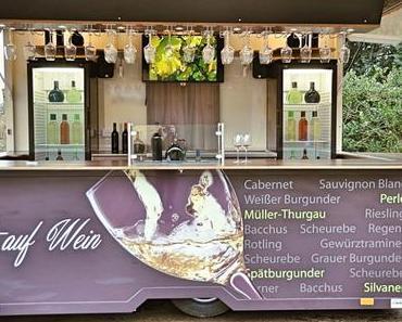 FRANKENWEINTAGE im Hopfengarten: Franken-Weingut Roman Sauer - + + + fränkische Weine ++ Frankenweintage im Hopfengarten ++ 20. -23. Juli 2017