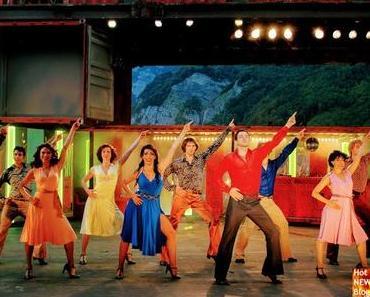 Walensee-Bühne mit dem Musical Saturday Night Fever