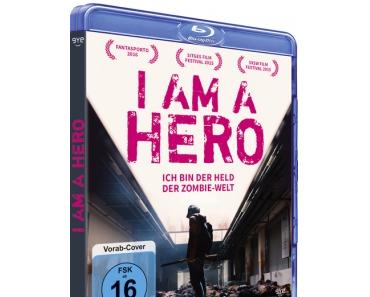 I am a Hero: DVD/BD-Termin und Cover enthüllt