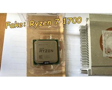 Fälschungen von Ryzen-Prozessoren